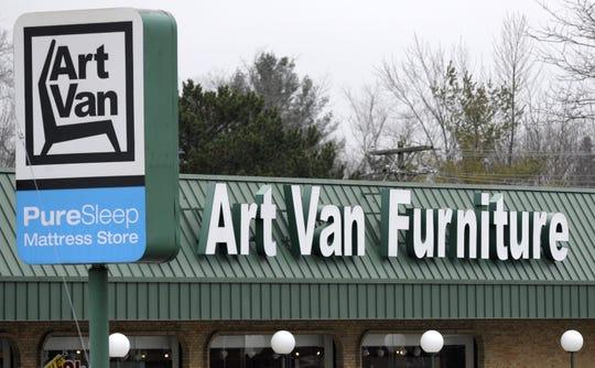 Art Van Furniture in Livonia.