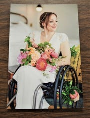 Beth Hardcastle was just 14 when  she was paralyzed in a tragic car accident in rural Tiffin. Today, she is a successful health policy lawyer in Washington, D.C. Her May, 2019 wedding was featured in The New York Times.