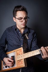 Portland blues guitarist/singer Ben Rice visits The Barrel Room on  March 20.