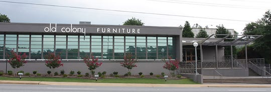 A recent photo of Old Colony Furniture on Augusta Road.