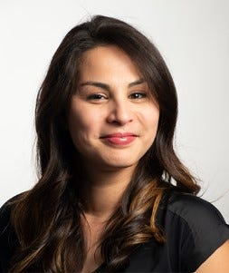 Jessica Ignacio-Mesa is a senior project manager at Saatchi & Saatchi, a global creative communications company. She spoke at the Guam Women's Chamber of Commerce conference on Thursday at the Dusit Thani Guam Resort.