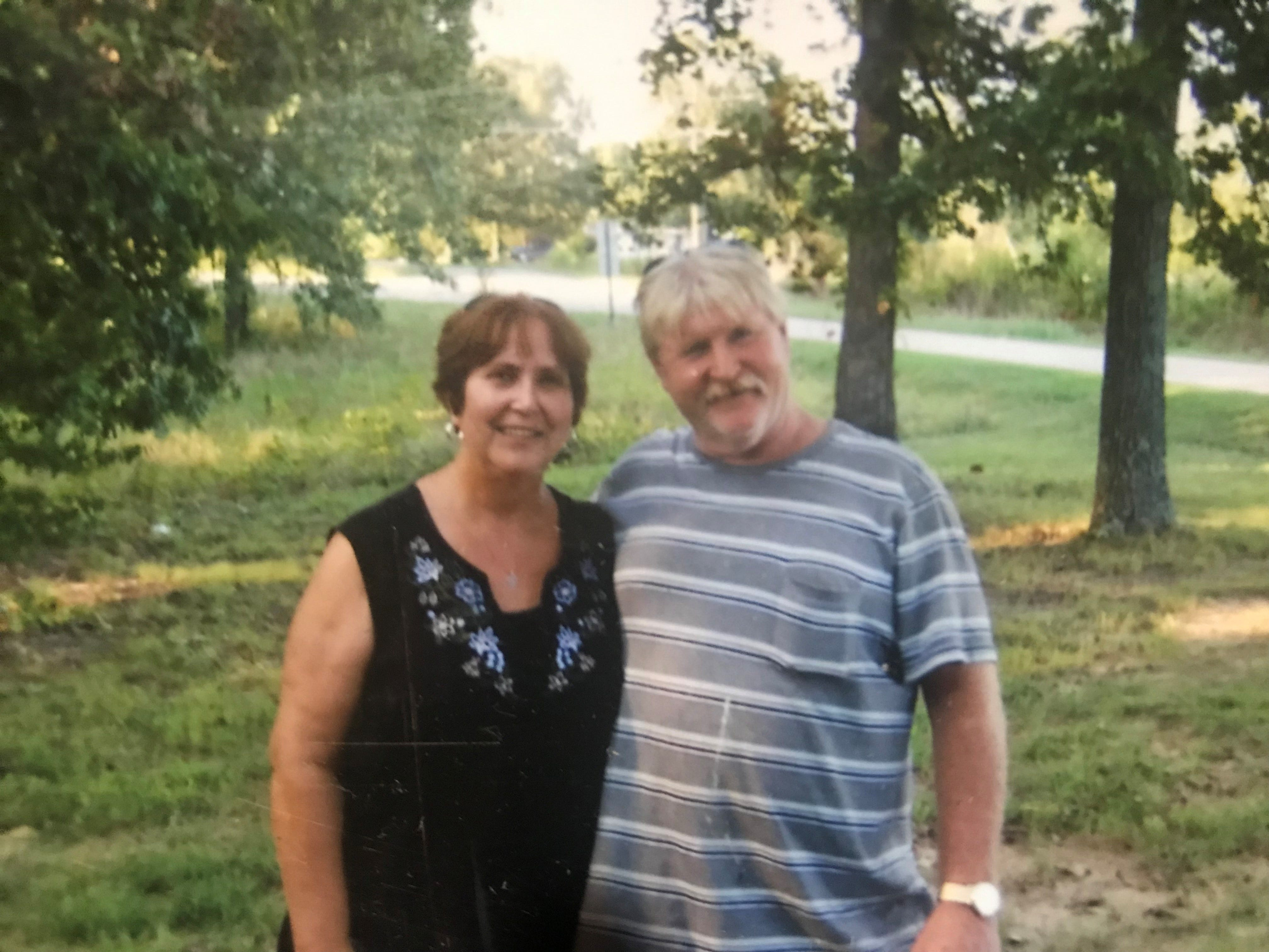 Photo of Carl Frazee, 67 and girlfriend Patricia Kendall