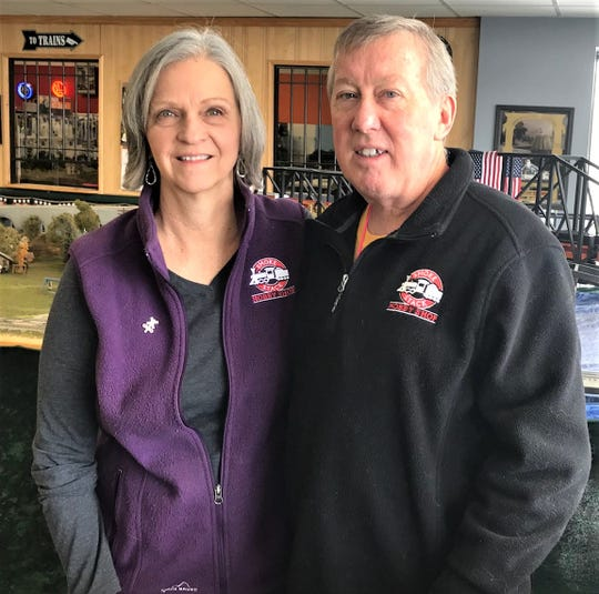 Patti and Don Riordan bought The Smoke Stack Hobby Shop in 2013 and moved to a larger building at 342 Lincoln Ave. in 2016.