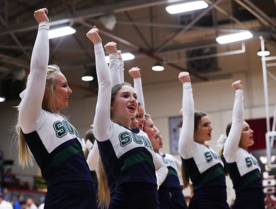 South Oldham versus Simon Kenton during their 8th Region Tournament game at Henry County High School in New Castle, Ky. on Mar. 3, 2020.