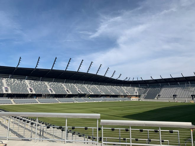 Lynn Family Stadium, which has a max capacity of 15,304, will host the 2021 NWSL Championship on Nov. 20.