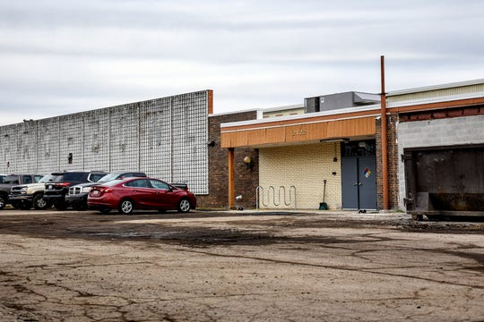 PG Manufacturing plans to grow, process and sell recreational marijuana at the former site of the Pro Bowl bowling alley, photographed on Thursday, March 5, 2020, in Lansing.