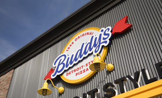 The Lansing area's first Buddy's Pizza is set to open March 19 on West Saginaw Highway in Delta Township.