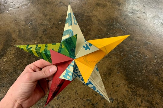 Hamilton Wood Type & Printing Museum, 1816 10th St., Two Rivers, will host 'Crafternoon: 3D Paper Stars.'