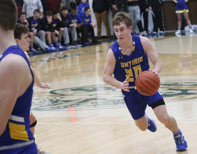 Ontario's Kolten Kurtz is poised for a huge senior year for the Warriors on the football field and basketball court.