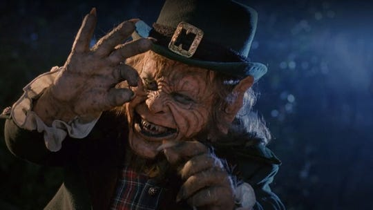 """I want me gold!"" You'll be saying that over and over after you go see Warwick Davis in ""Leprechaun,"" a 1993 horror movie that returns March 19 to the Studio on the Square."
