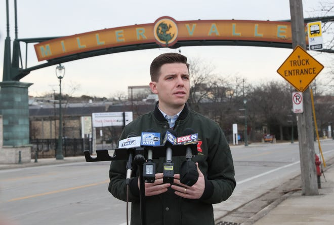 Adam Collins, chief communications officer of Molson Coors, said the company has resumed operations one week after the deadly mass shooting in Milwaukee.