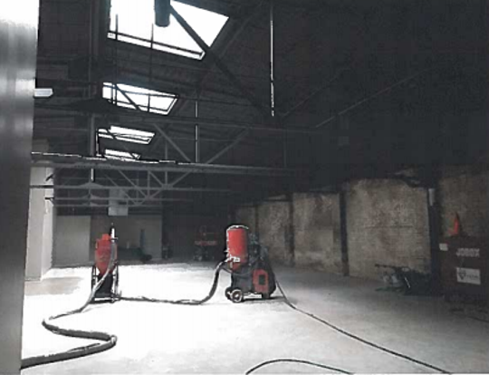 A former east side office has been gutted and will be an events venue under a new plan.