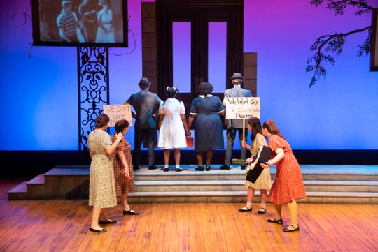 "A scene from ""Ruby: The Story of Ruby Bridges"" at Alabama Shakespeare Festival on March 6-22."