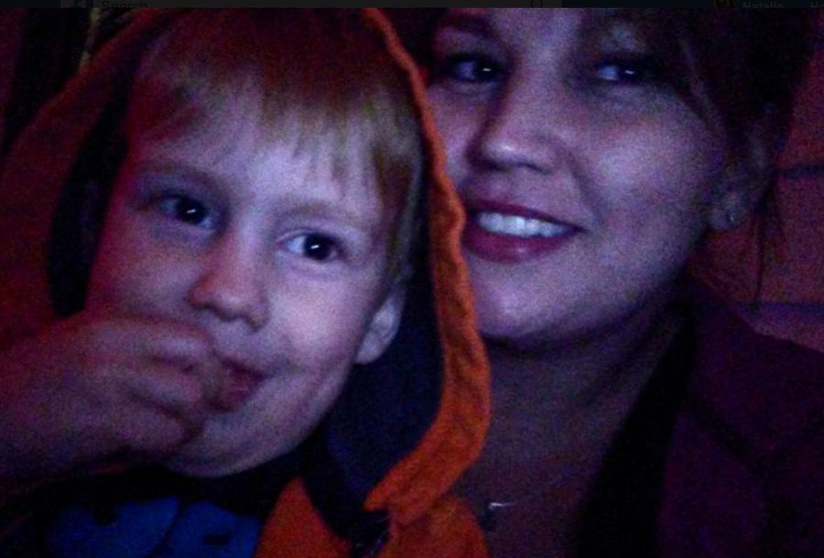 Photo of Harlan Marsh, 5, and Stephanie Field, 36