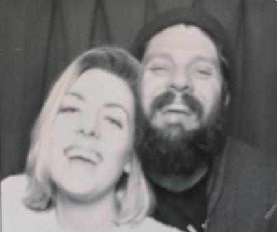 Photo of couple Albree Sexton, 33, and Michael Dolfini, 36
