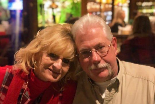 Sue and Todd Koehler on Valentine's Day