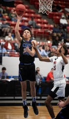 CSN's Ryker Vance takes a shot against Andrew Jackson in a Class 3A state semifinal game on Wednesday in Lakeland.