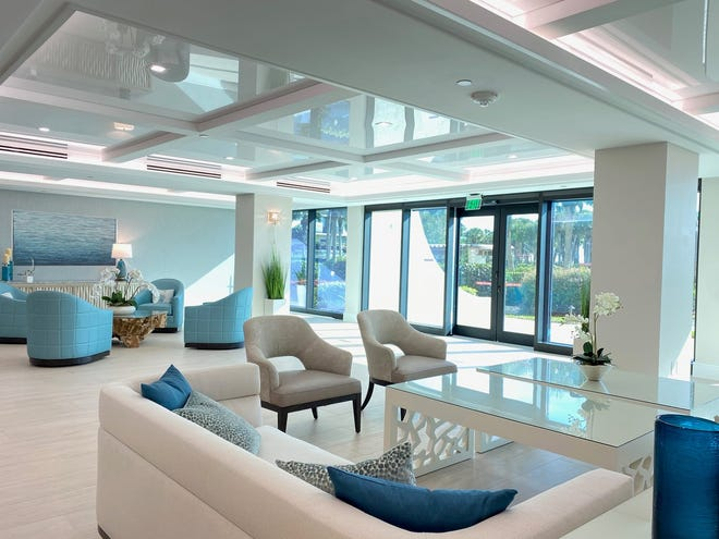 Clive Daniel Hospitality has recently completed a total renovation of the building lobbies, corridors and social rooms for the two 16-story Vanderbilt Gulfside Condominiums in North Naples.