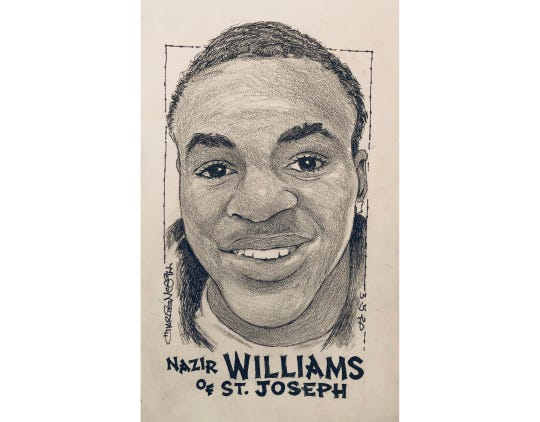 Nazir Williams, St. Joseph basketball