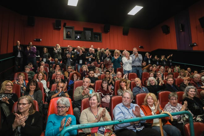 A packed theater at showing of Richard Dreyfuss's latest movie Astronaut at the Las Cruces Film Festival on Wednesday, March 4, 2020 in Las Cruces.