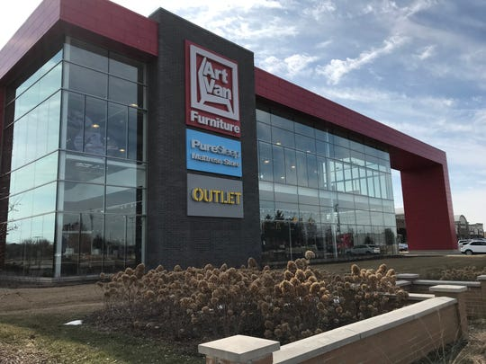 The Canton Art Van store on Ford Road was considered the store's new flagship location when it opened in 2018.
