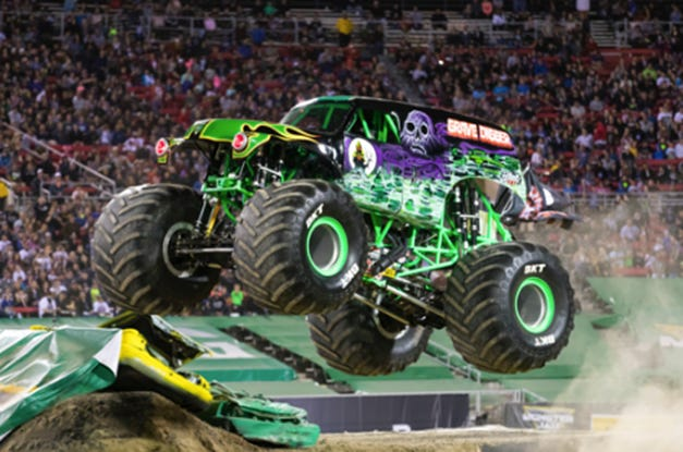 Monster Jam rolls into the Pensacola Bay Center on Saturday and Sunday.
