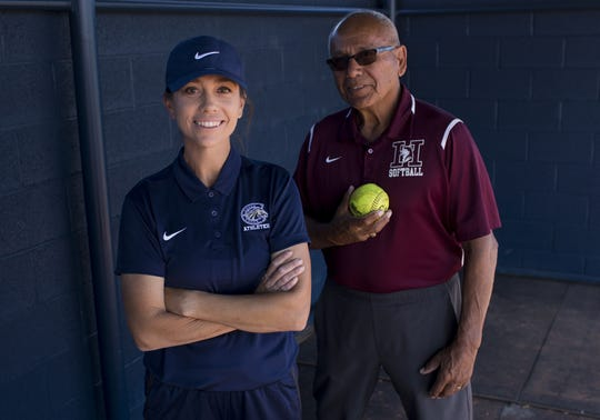 Jessica Parra Bonilla and Rocky Parra could face off on the softball field this season.