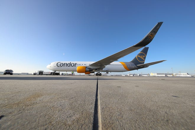 Condor Airlines, which resumesits seasonalnonstop service from Phoenix Sky Harbor International Airportto Frankfurt on April 4, is offering a voucher for $50 off your next flight. The offer ends March 6.