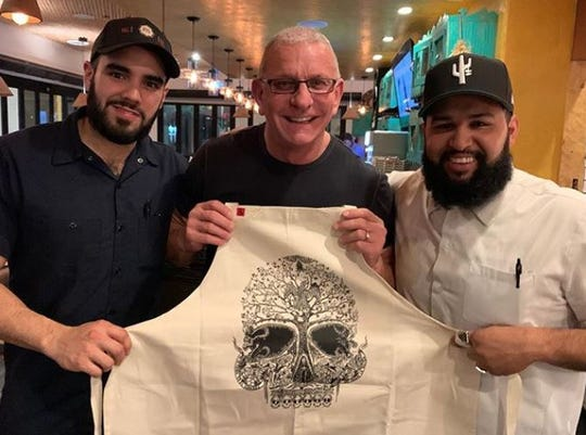 Food Network celebrity chef Robert Irvine dined at Ghost Ranch in south Tempe on March 3, 2020, the restaurant confirmed.