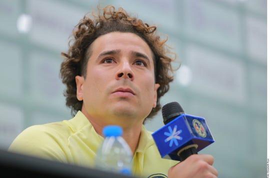 Guillermo Ochoa, arquero del América.