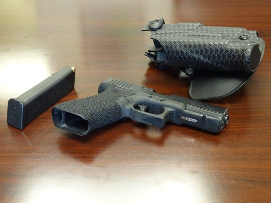 Glock, a firearms manufacturer widely known for its series of pistols, makes several popular models often carried by CCW license holders. The Glock 22 pictured here is carried by many Ottawa County Sheriff's deputies.