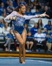 University of Florida sophomore and former West York athlete Trinity Thomas is the top-ranked all-around gymnast in the NCAA this season.