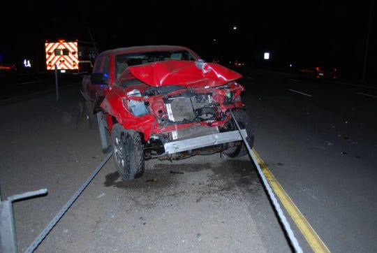 A Dayton woman was killed in a two-vehicle accident in Minden.