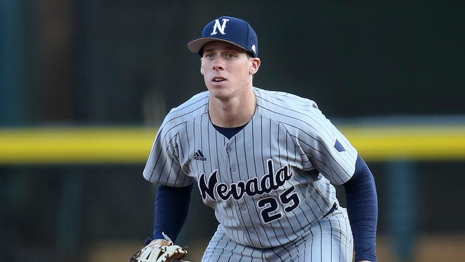 Mountain West player of the year Dillan Shrum led the nation in batting average this season.