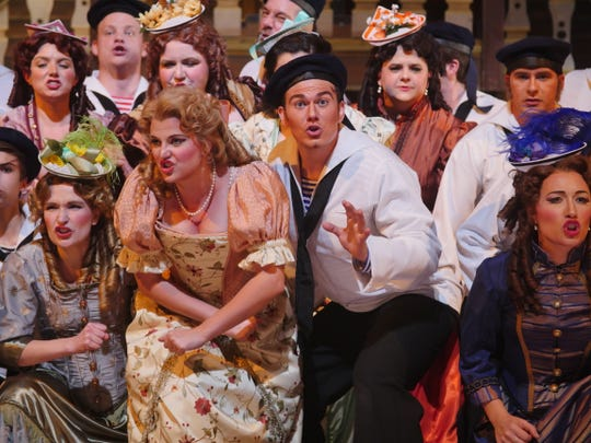 "Shreveport Opera's production of ""H.M.S. Pinafore"" featured SOX artists from past and current seasons."