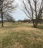 Reader wants to know why there are several mounds at Norma Champion Park.