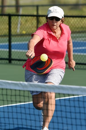 After four years and $500,000, eight new public pickleball courts were opened on Thursday, March 5, 2020, on Airport Road East in Sebastian. The new courts were packed with players after a short dedication ceremony as the mayor and City Council members volleyed a ball over the net.