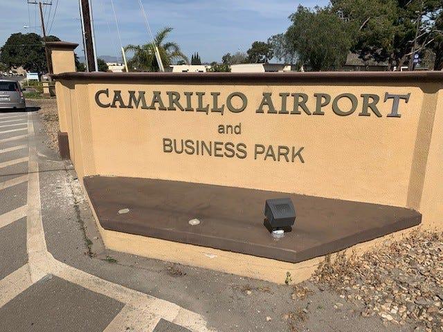 Camarillo Airport entrance.