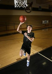 Clark Slajchert scored 930 points in his senior season at Oak Park to finish with 2,833 career points — the second most in Ventura County history.