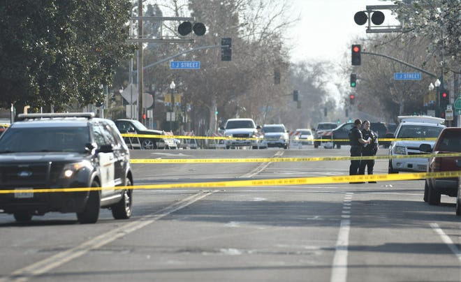 Tulare police continued their investigation into a shooting that left one dead and six injured on Wednesday, March 5, 2020.