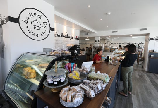 The interior of the new Baked By Susan on South Riverside Drive in Croton-on-Hudson, March 5, 2020.