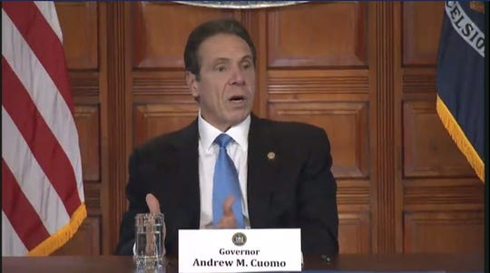 Gov. Andrew Cuomo gives an update on the coronavirus, March 5, 2020