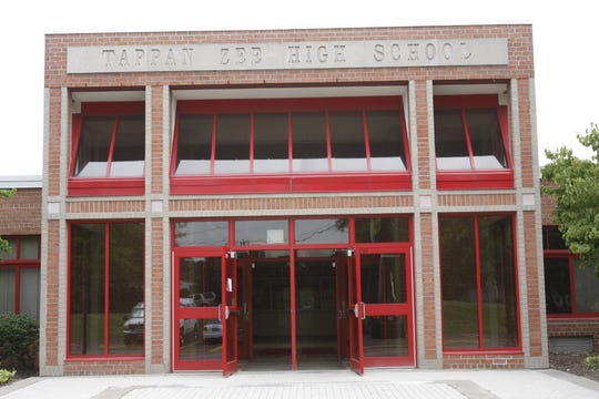 Exterior of Tappan Zee High School.