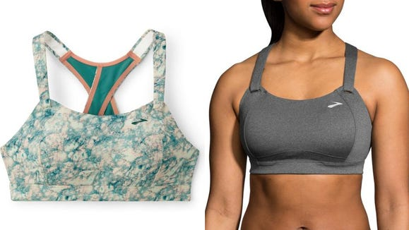 This sports bra will keep everything in place for running, burpees, and more.