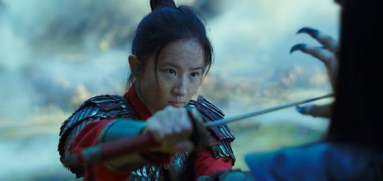 """Yifei Liu stars as the title warrior of Disney's live-action redo of """"Mulan."""""""