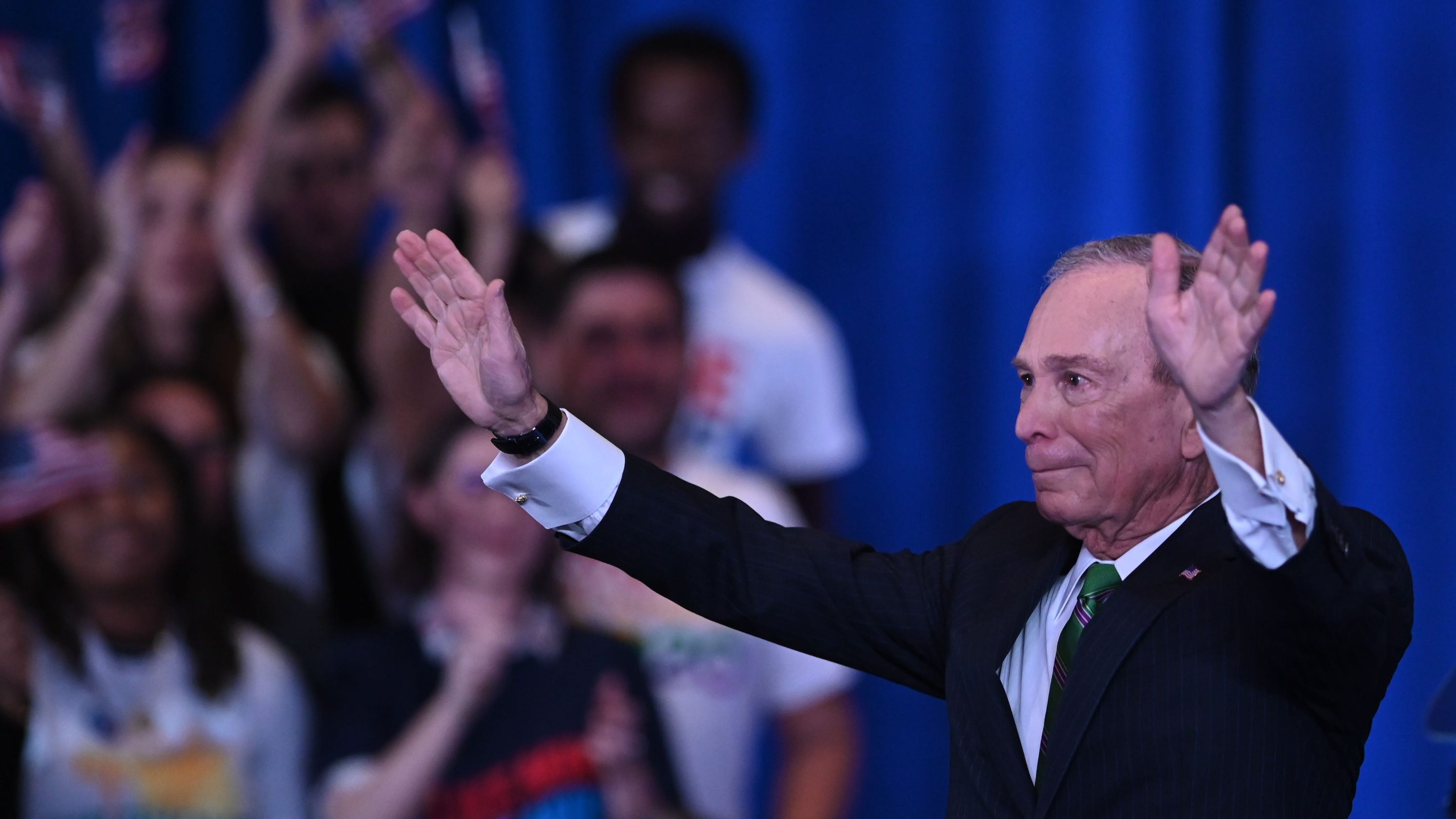 Mike Bloomberg pledges to give DNC $18M to help beat Trump in November
