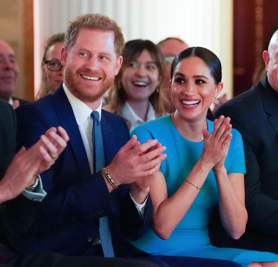 At the Endeavour Fund Awards in London on, March 5, Prince Harry and Meghan, Duchess of Sussex, cheer as one of the honorees proposes marriage to his girlfriend.
