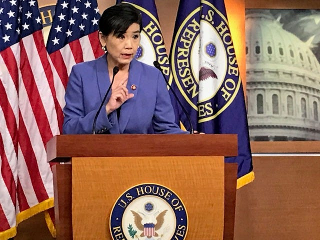 Rep. Judy Chu, head of the Congressional Asian Pacific American Caucus, and other lawmakers are urging people to be watchful for misleading Census information.