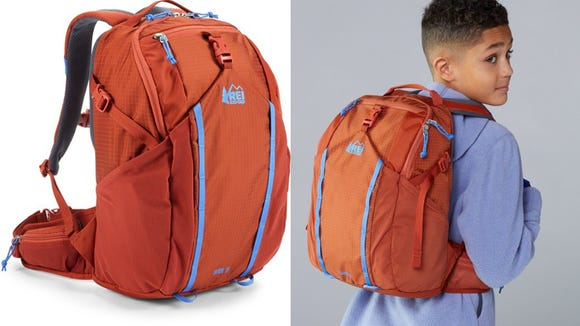 Hold everything from hiking snacks to school books.