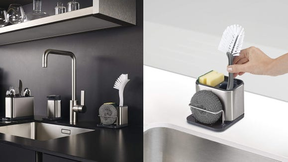 Keep your sink looking neat and tidy.